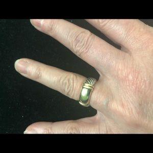 David Yurman Metro Ring - Gold/Sterling Silver